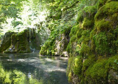 Gütersteiner Wasserfälle 625 Hm ü.N.N.