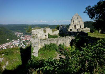 Hohenurach, Burg ab 1220, Abbruch 1765